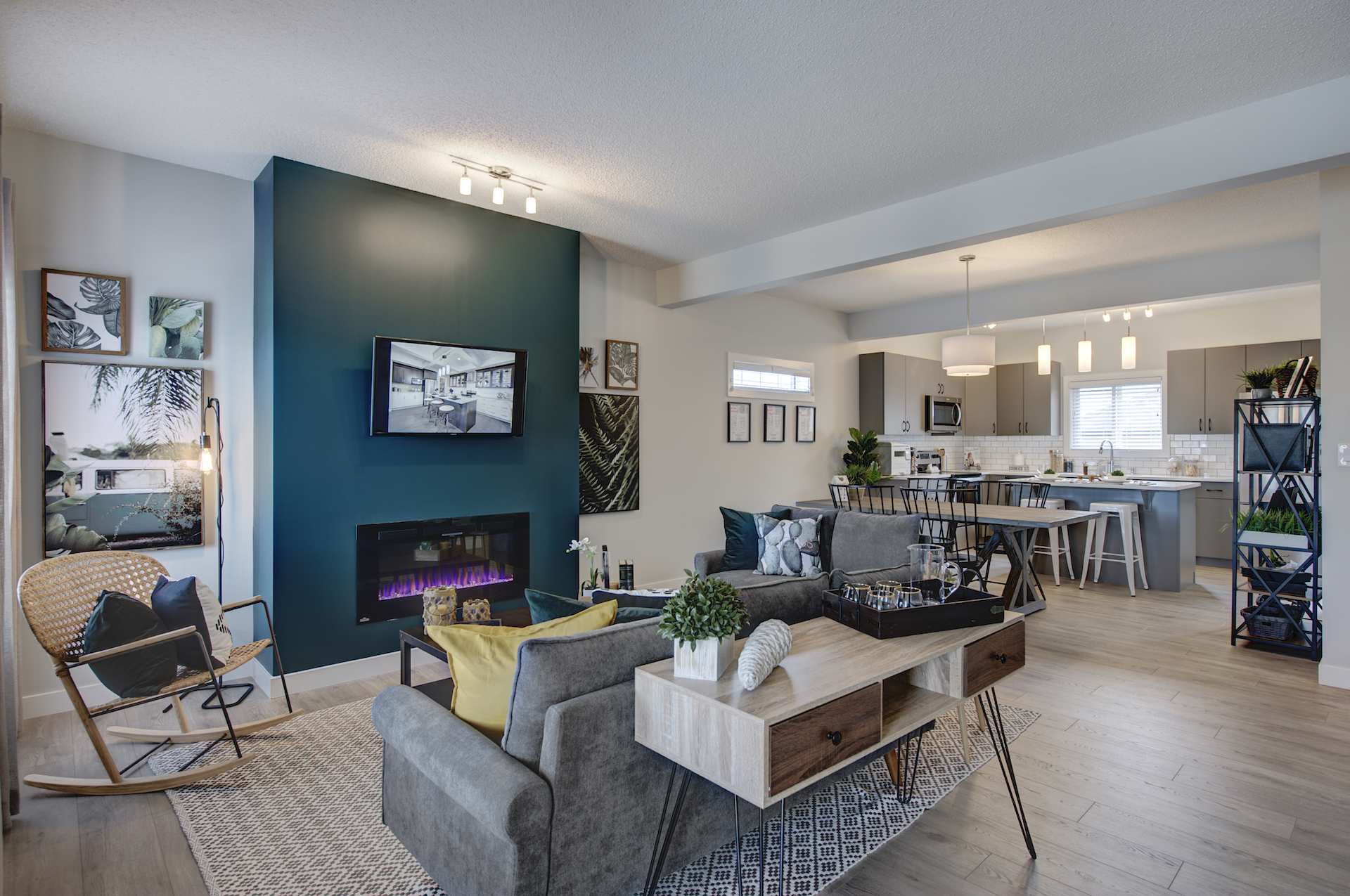 Wolf-Willow-Calgary-Look-Townhome-Living Room